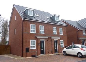 Thumbnail 3 bed town house to rent in Thunderbolt Avenue, Warton, Preston
