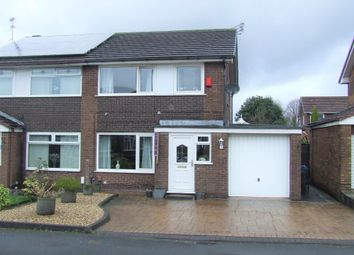 Thumbnail 3 bed semi-detached house for sale in Arnside Avenue, Chadderton, Oldham