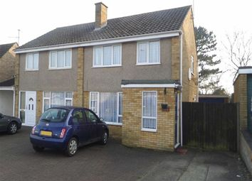 Thumbnail 3 bed semi-detached house to rent in Cottingham Grove, Bletchley, Milton Keynes