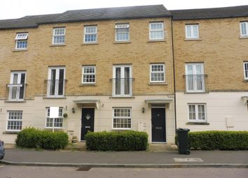 Thumbnail 3 bedroom town house to rent in Harlow Crescent, Oxley Park, Milton Keynes
