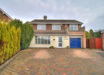 Thumbnail 4 bedroom detached house for sale in Thirlmere, Coalville