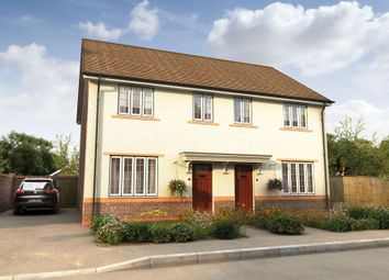 "Thumbnail 3 bedroom semi-detached house for sale in ""The Byron"" at Wharford Lane, Runcorn"