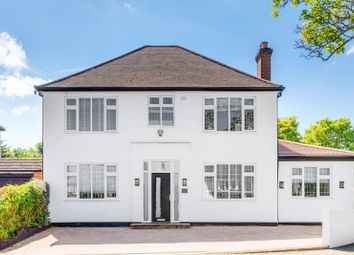 Thumbnail 4 bed detached house for sale in Garratts Lane, Banstead, Surrey
