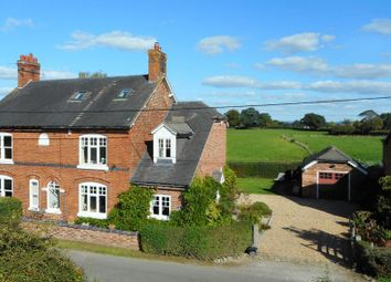 Thumbnail 4 bed semi-detached house for sale in Swan Farm Lane, Audlem Road, Woore, Crewe