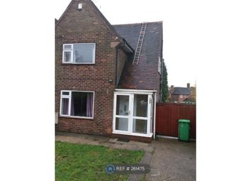 Thumbnail 2 bed semi-detached house to rent in Hucknall Road, Notts