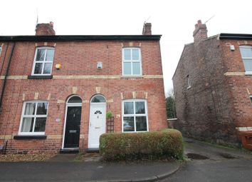 Thumbnail 2 bed end terrace house for sale in Cross Street, Urmston, Manchester