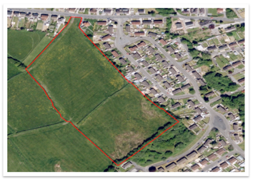 Thumbnail Land for sale in Rear Of Ffordd Aneurin, Pontyberem, Llanelli