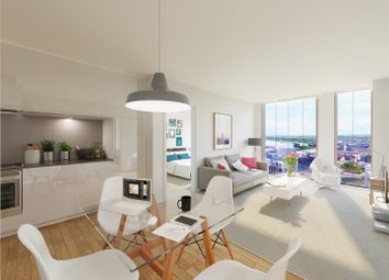 Thumbnail 2 bed flat to rent in 59 Hadrian's Tower, Rutherford Street, City Centre