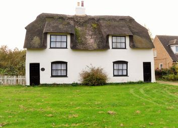 Thumbnail 3 bed cottage for sale in North Green, Coates, Whittlesey