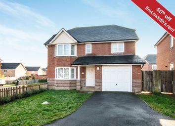 Thumbnail 4 bed detached house to rent in Dorset Crescent, Worting, Basingstoke