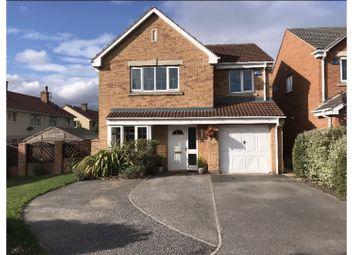 Thumbnail 4 bed detached house for sale in Sunningdale Drive, Edlington, Doncaster