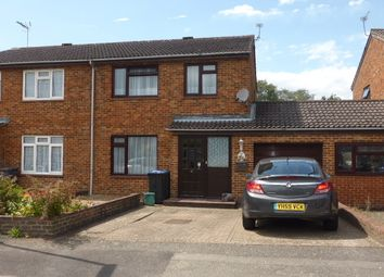 Thumbnail 3 bed semi-detached house for sale in Corby Drive, Englefield Green, Egham