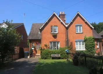 Thumbnail 3 bed semi-detached house for sale in Vicarage Road, Egham