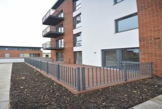 Thumbnail 1 bed flat for sale in Fairbourne Court, Denyer Walk, Southampton