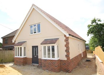 Thumbnail 3 bedroom detached house for sale in Limes Avenue, Bramford, Ipswich, Suffolk