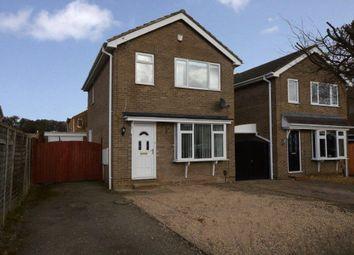 Thumbnail 3 bed detached house for sale in Newtondale Close, Knaresborough, North Yorkshire