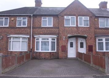 Thumbnail 3 bed terraced house for sale in Tavistock Road, Acocks Green, Birmingham