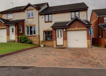 Thumbnail 3 bed semi-detached house for sale in Drumview Gardens, Bo'ness