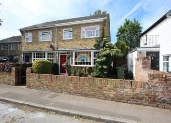 Thumbnail 3 bed end terrace house for sale in High Street, Stanwell Village, Staines-Upon-Thames, Surrey