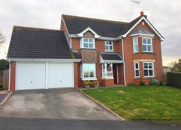 Thumbnail 4 bed detached house for sale in Swan Close, Stafford