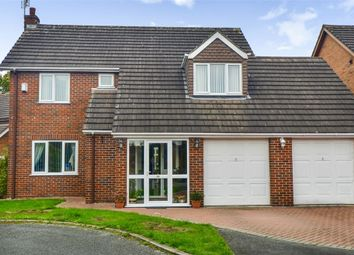 Thumbnail 4 bed detached house for sale in Millbeck Close, Weston, Crewe, Cheshire