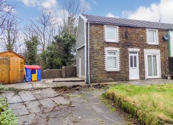 Thumbnail 2 bed semi-detached house for sale in Park Street, Tonna, Neath, Neath Port Talbot.