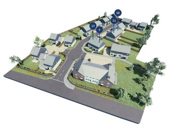 Thumbnail 2 bed semi-detached house for sale in Ladock, Truro