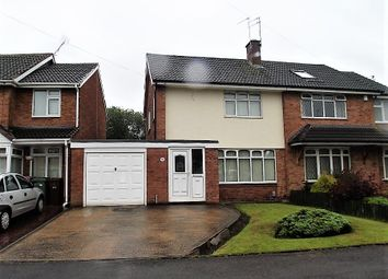 Thumbnail 3 bedroom semi-detached house to rent in Southfield Road, Wednesfield, Wolverhampton