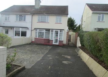 Thumbnail 3 bedroom semi-detached house for sale in Truro Road, Cosham, Portsmouth