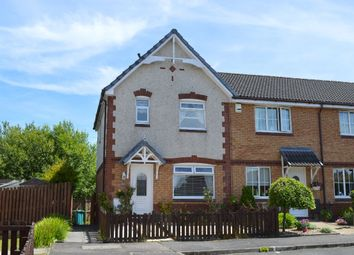 Thumbnail 3 bed end terrace house for sale in Pine Quadrant, Chapelhall, Airdrie