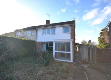 Thumbnail 3 bed semi-detached house for sale in Northfield Road, Duston, Northampton