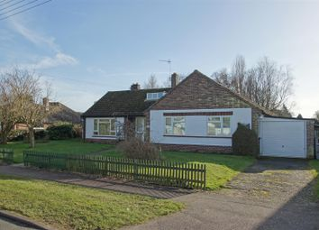 Thumbnail 3 bed bungalow for sale in Furze Close, Thurston, Bury St. Edmunds