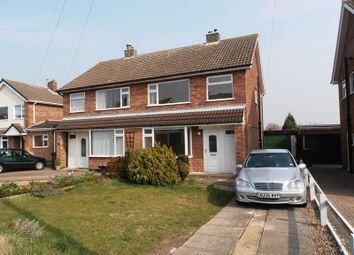 Thumbnail 3 bed semi-detached house to rent in Melbray Drive, Melton Mowbray