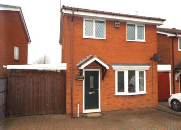 Thumbnail 3 bed detached house for sale in Rawnsley Road, Cannock, Staffordshire