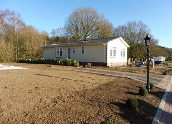 Thumbnail 2 bed mobile/park home for sale in Woodlands, Haveringland, Norwich