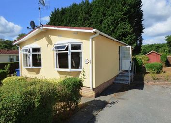 Thumbnail 2 bed mobile/park home for sale in Warren Park, Portsmouth Road, Thursley, Godalming