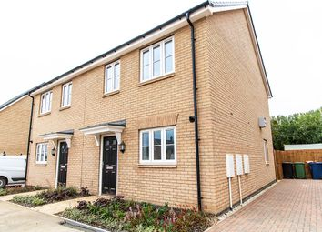 Thumbnail 3 bed semi-detached house for sale in Fyson Way, Warboys, Huntingdon