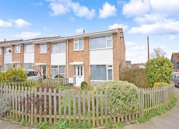 Thumbnail 3 bed end terrace house for sale in Fairview Road, Sittingbourne, Kent
