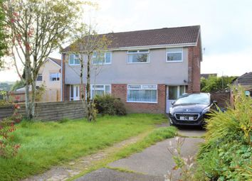 Thumbnail 3 bed semi-detached house for sale in Rhosili Road, Cefn Hengoed, Hengoed