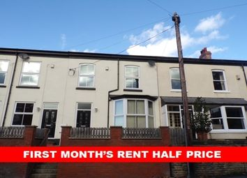 Thumbnail 4 bed terraced house to rent in Turncroft Lane, Portwood