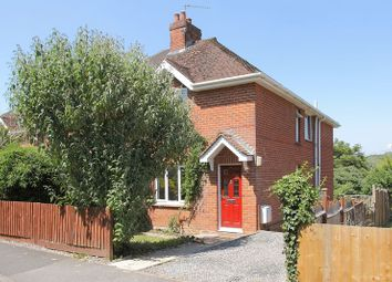 Thumbnail 3 bed semi-detached house for sale in Valley Rise, Upper Clatford, Andover