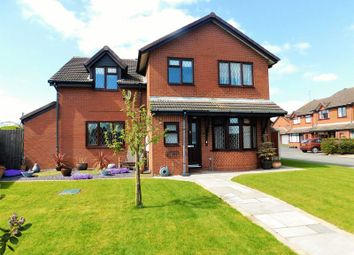 Thumbnail 4 bed detached house for sale in The Brandons, Moss Pit, Stafford