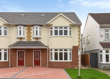 Thumbnail 4 bed semi-detached house for sale in Heathcote Grove, Chingford, London