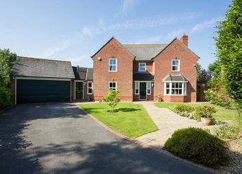Thumbnail 4 bed detached house for sale in Earswick Chase, Earswick, York