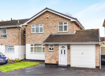Thumbnail 3 bed detached house for sale in Harvest Close, Leicester