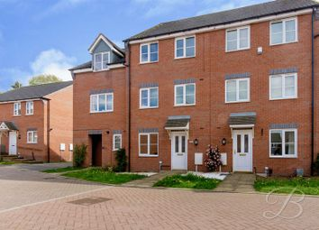 Thumbnail 4 bed town house for sale in Bank End Close, Mansfield