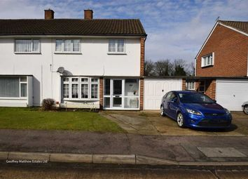 Thumbnail 3 bed semi-detached house for sale in Felmongers, Harlow, Essex