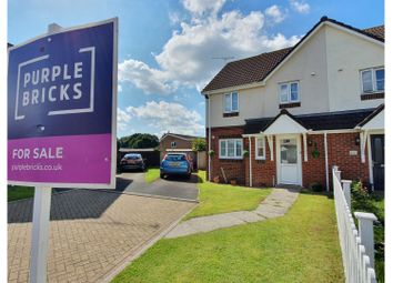 3 bed semi-detached house for sale in Dukes Mead, Cullompton EX15