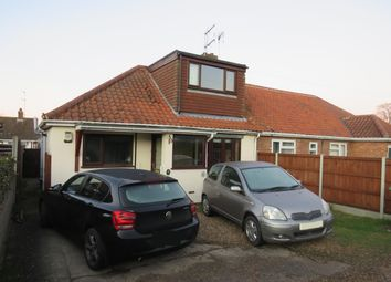 Thumbnail 3 bed bungalow to rent in Arnfield Lane, New Costessey, Norwich