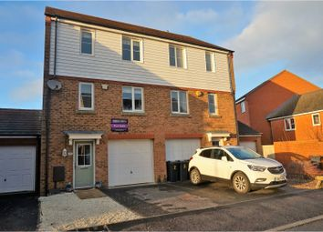 Thumbnail 3 bed town house for sale in Ribston Way, Ashford